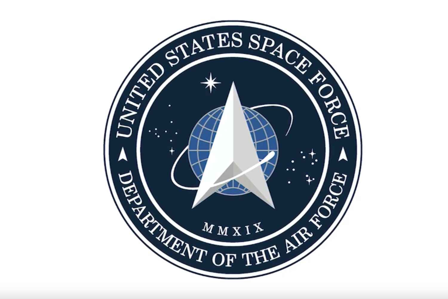 President Trump reveals logo for U.S. Space Force