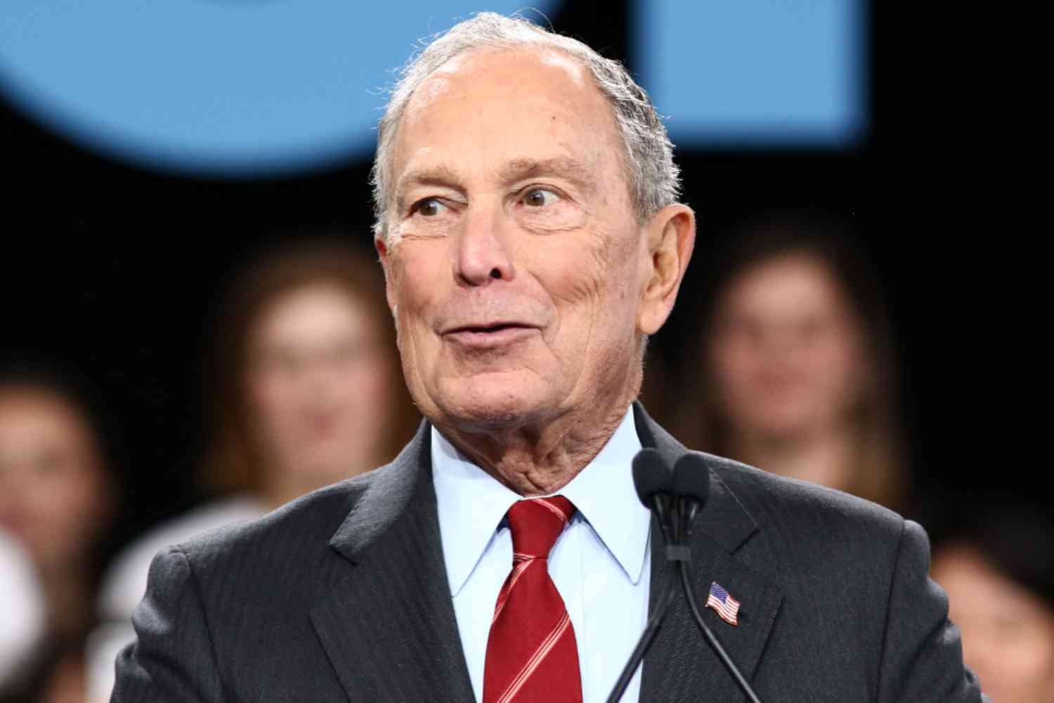 Bloomberg takes shot at Sanders over aggressive supporters
