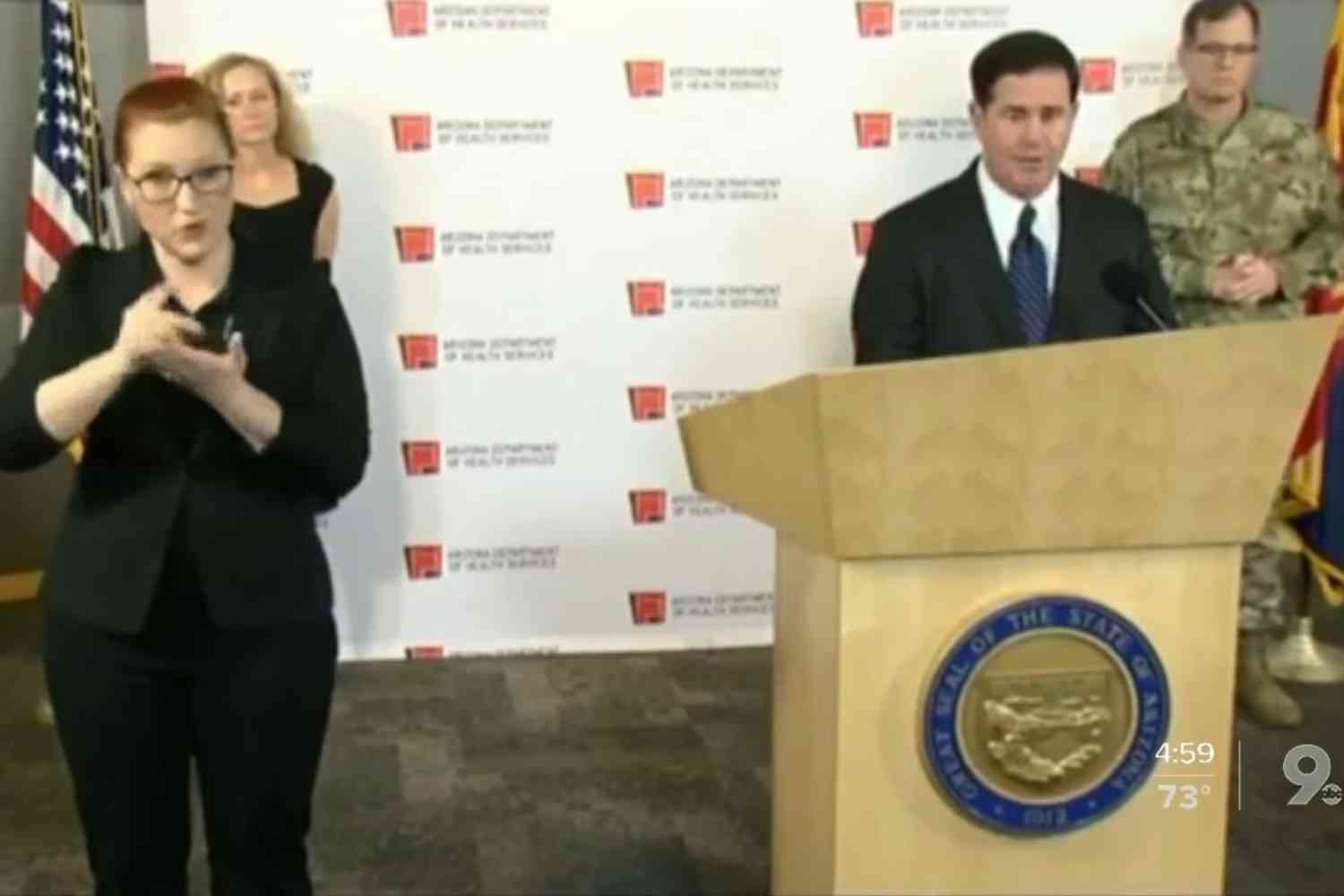Arizona governor issues stay-home order, closes non-essential businesses
