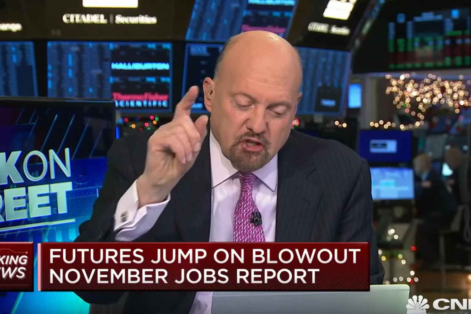 """Jim Cramer: """"These Trump Job Numbers Are The Best Of Our Lives."""""""