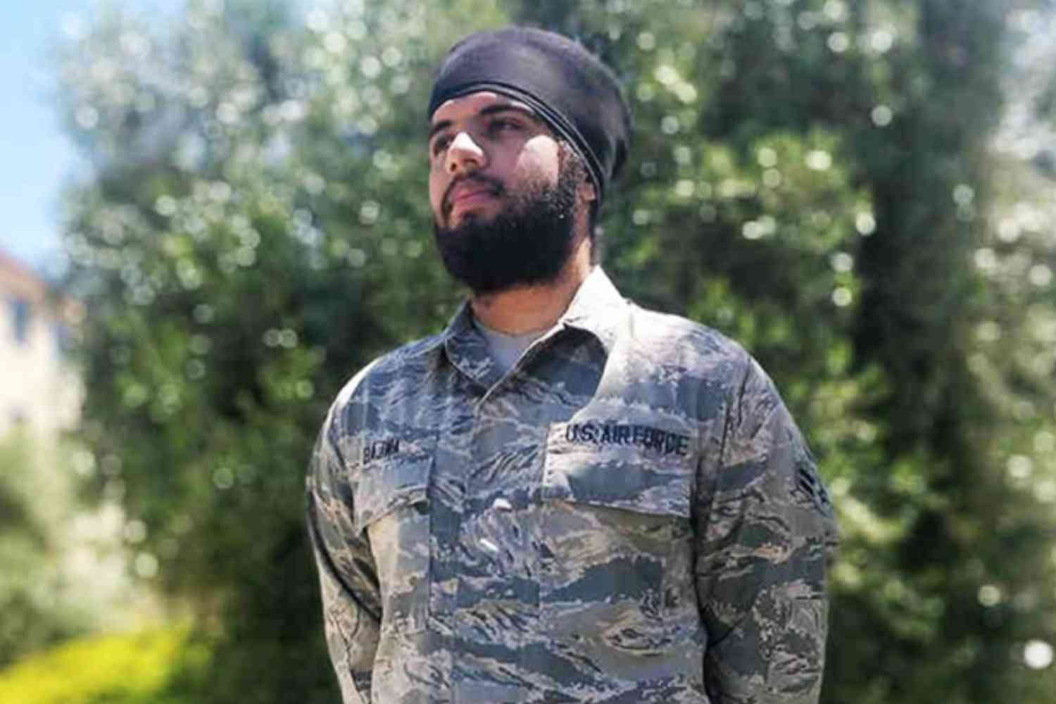 U.S. Air Force updates dress code to allow beards, turbans, hijabs for religious reasons